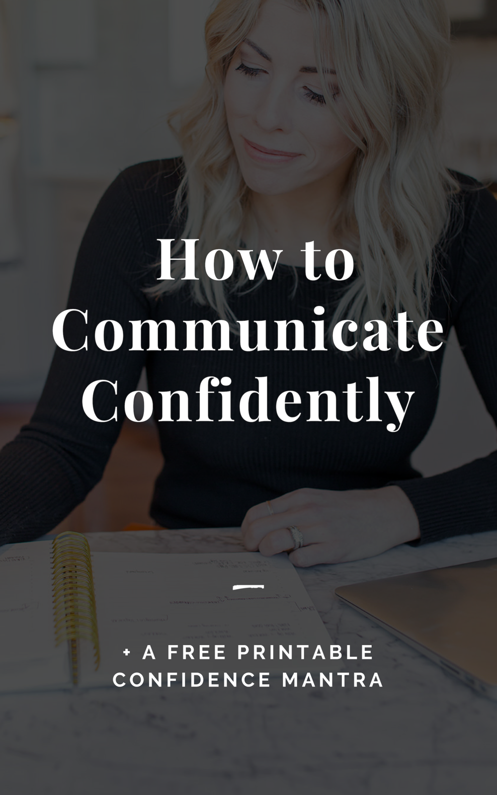 How to Communicate Confidently