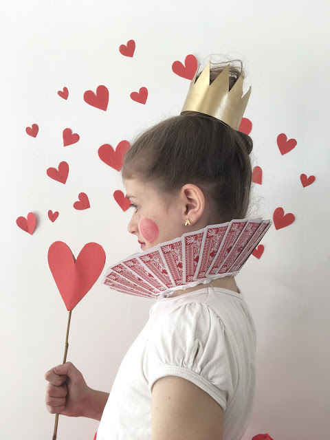 Book Week Costume The Queen Of Hearts The Happy Home