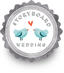 Creek Haus wedding featured in Storyboard Wedding