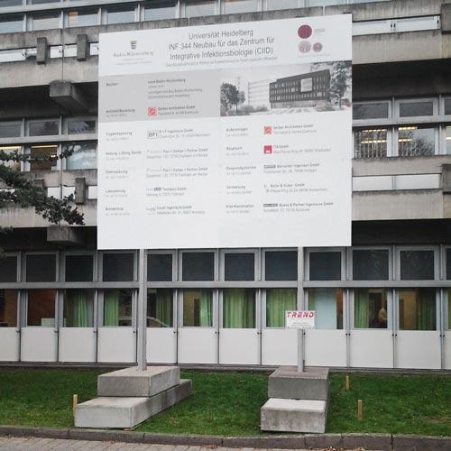 Direkte Fassadenverschraubung