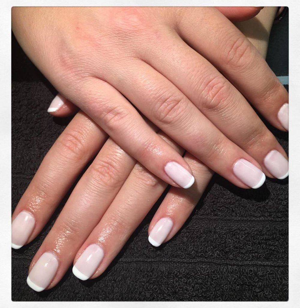 French Tips - The classic white tipped manicure£5 extra on any manicure treatmentSelect 'French Tips' add-on when completing your booking