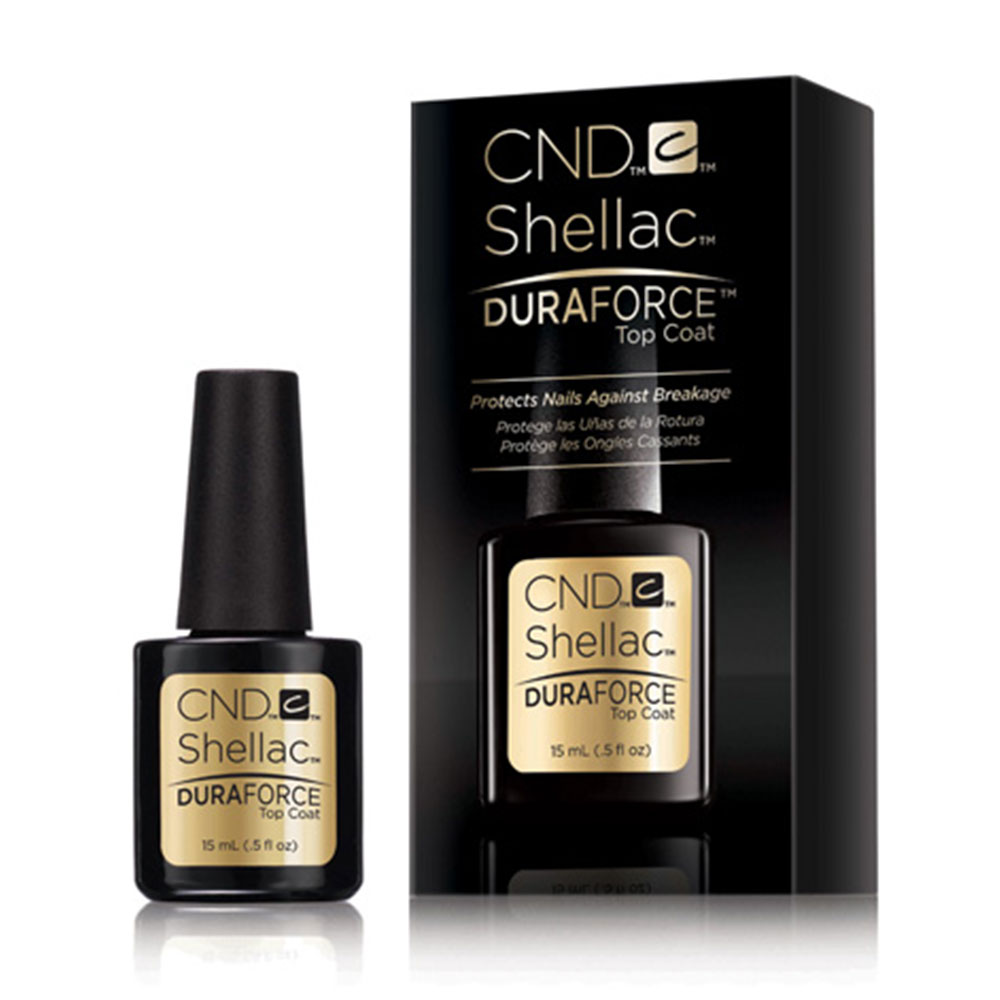Duraforce - Are your nails weak, resulting in reduced longevity for your manicures? If so then add a CND Duraforce top coat for 14+ days of high performance wear with no nail damage.£5 extra on any treatmentSelect 'Duraforce' add-on when completing your booking