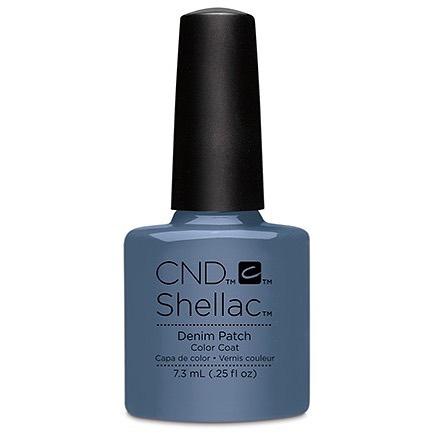 • D E N I M  P A T C H 👖 a bluey grey tone • . . . . . . #rachaelandco #londonnails #shellacmanicure #spitalfields #aldgate #liverpoolstreet #nails #naillife #naillove #naillounge #shellac #cnd #denimpatch