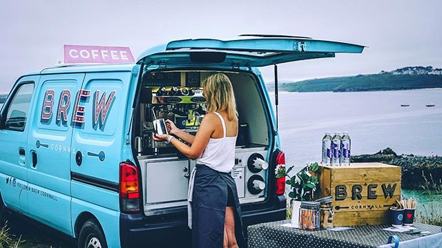 Come and see Hannah & The Brew Crew at the Summer Island Disco on the island in St Ives! Great coffee from @origincoffeeroasters paired with awesome milk from @trinkdairy lovingly made by us! ❤️☕️ We also have beautiful @bagsofbeanz available for purchase today! @summerislanddisco 👌🏼