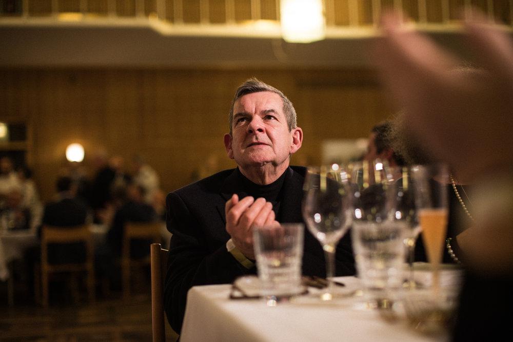 Søren Gericke deltog som en af de udvalgte all-stars-kokke til Michelin-arrangementet på Aarhus Rådhus.