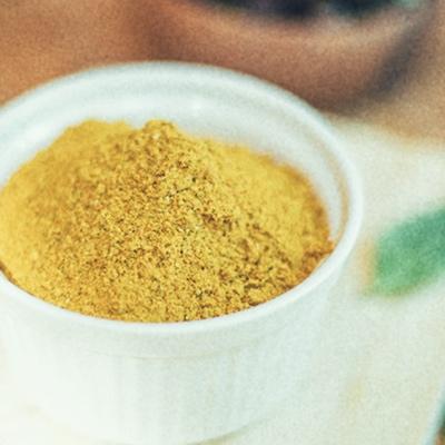 """Detalle 12 - El gusto especial de nuestra ensalada de lentejas lo da el """"Ras el Hanut"""", una mezcla de especies de Marruecos. La traducción literal es """"el cabeza de la tienda"""" y hace referencia a la mejor especia que el tendero puede ofrecer."""