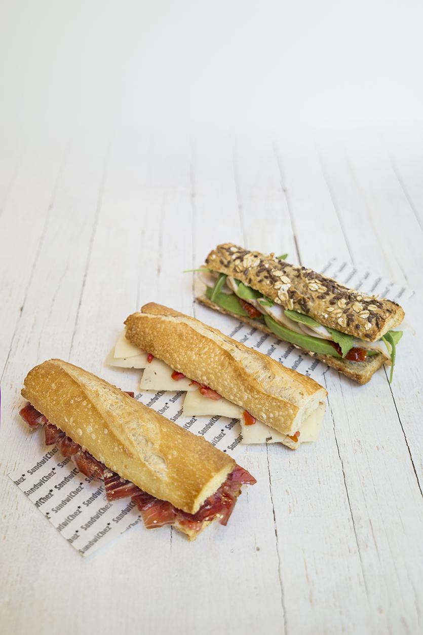 FLUTE SANDWICHES