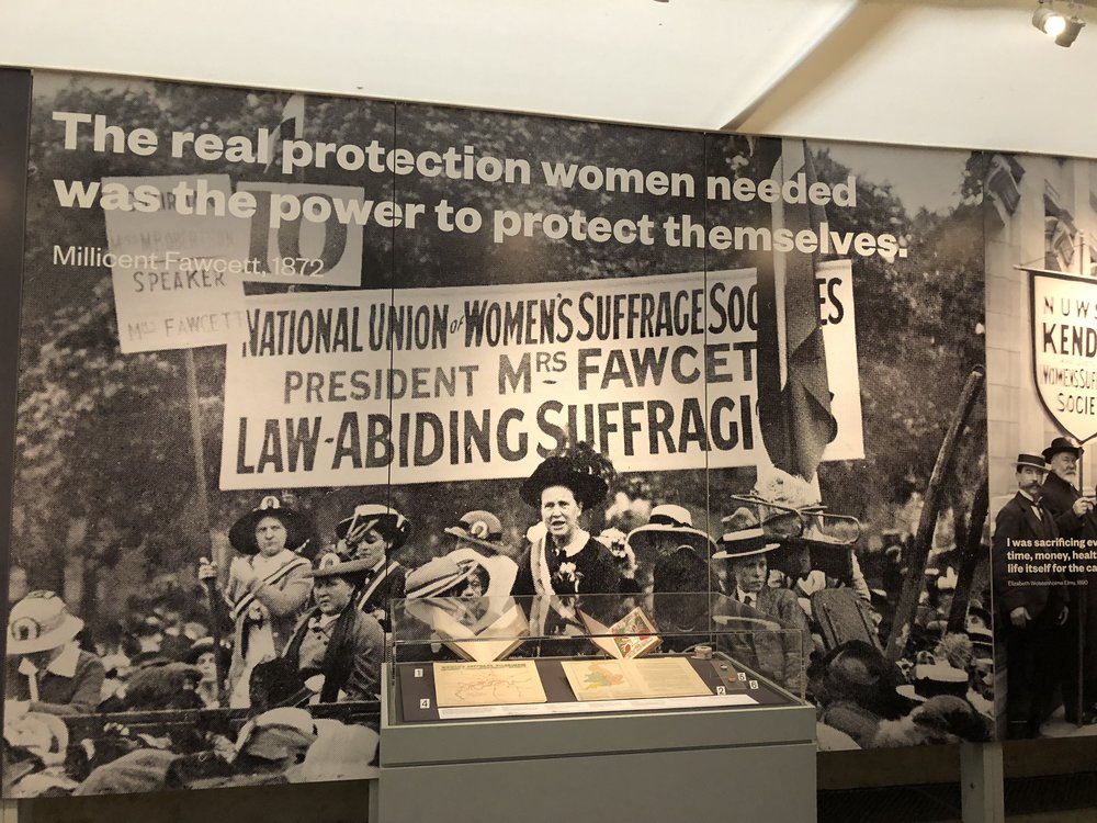 """""""The real protection women needed was the power to protect themselves"""" - Millicent Fawcett, 1872."""