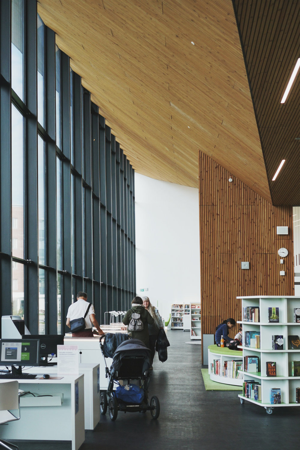 Maunula House - biblioteket