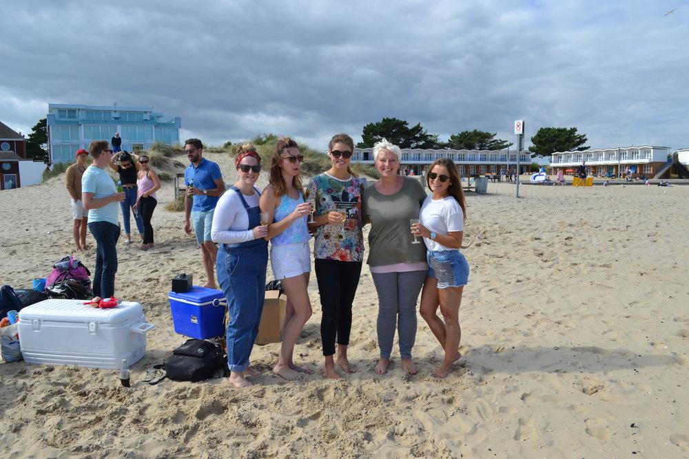 Oakstone International Beach bbq
