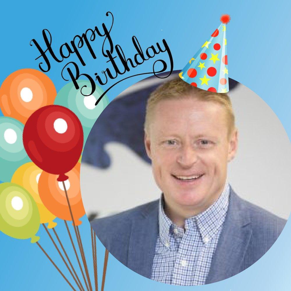 This month we are also celebrating Senior Consultant, Simon Bennett's birthday! Happy Birthday Simon!