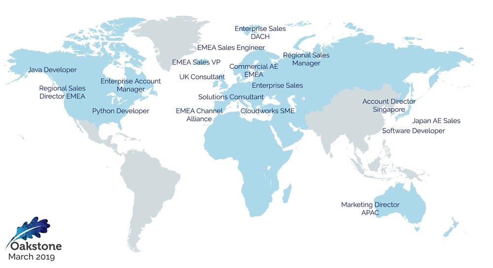 oakstone international executive search 2019