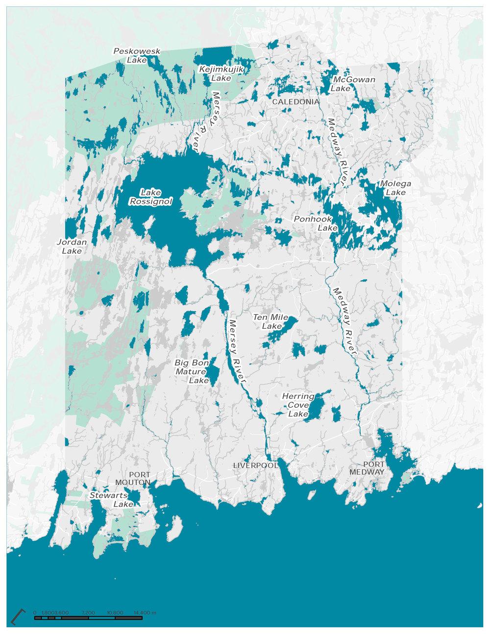 Watercourses and Coastline