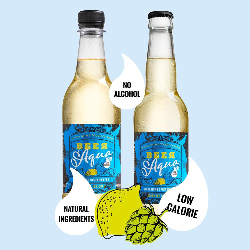 BeerAqua altijd en overal - BeerAqua is in zowel een glazen- als PET fles, verkrijgbaar bij de supermarkt, tankstations, diverse horecagelegenheden en op festivals.Met BeerAqua ben je altijd fris. Altijd en overal!