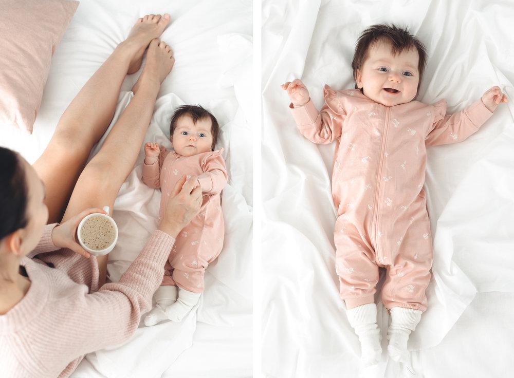 Lindex Baby malliston pyjama
