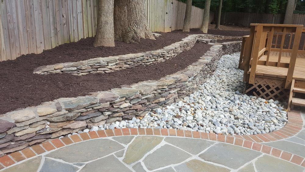+Wall-Fieldstone Retaining Walls with Delaware Stone for Erosion.jpg