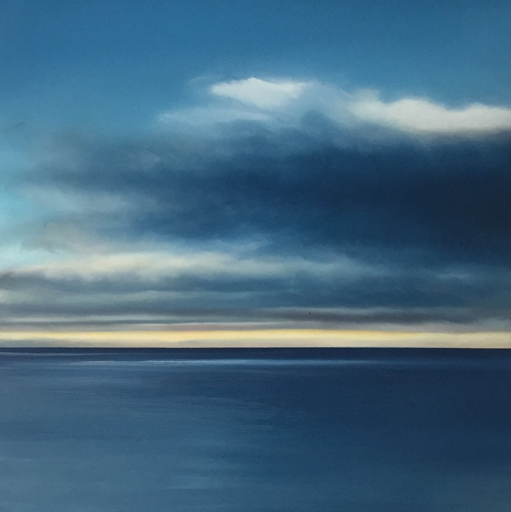 Morning Blues, Howth Cliffs