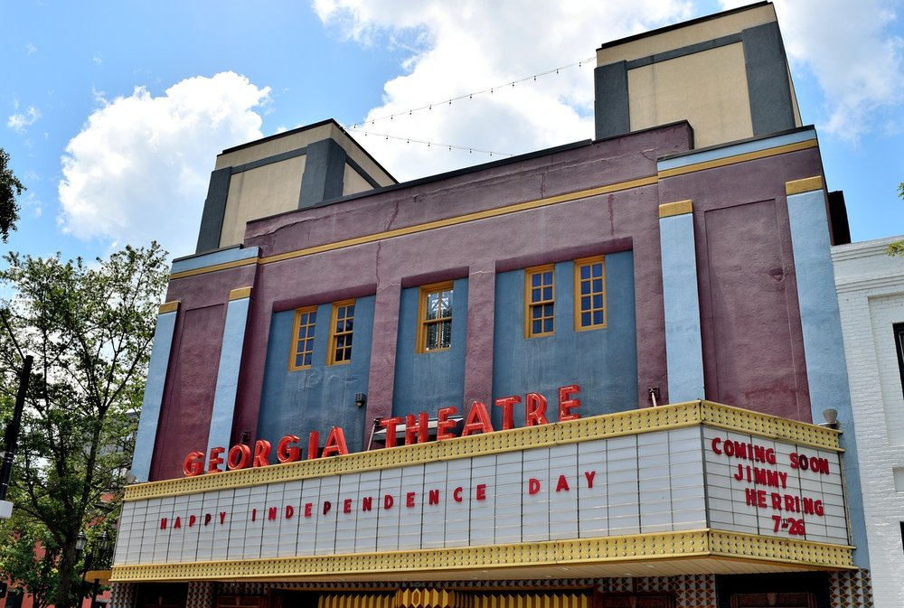 Georgia Theatre: Image courtesy of  paulbr75