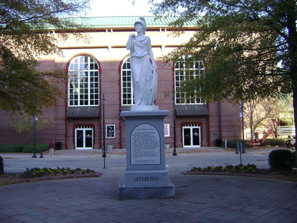 T he Classic Center: Image Courtesy of  Michael Rivera