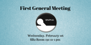 First General Meeting of The Spring Semester (1)