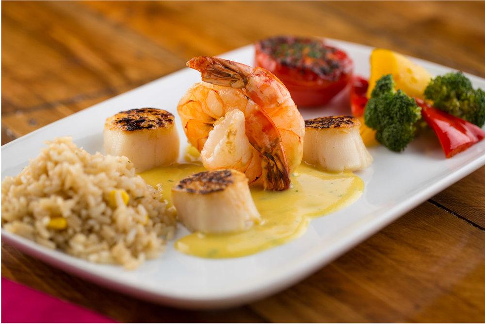Chili's Pan Seared Aji Amarillo Shrimp and Scallops.jpg
