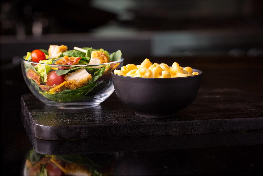 McD Bacon Ranch Crispy Chix Salad w Yellow Cheddar Cavatappi.jpg