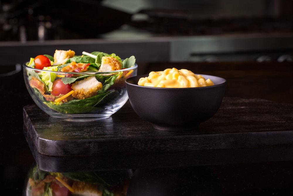 McD Bacon Ranch Crispy Chix Salad w Yellow Cheddar Whole Grain Pasta.jpg