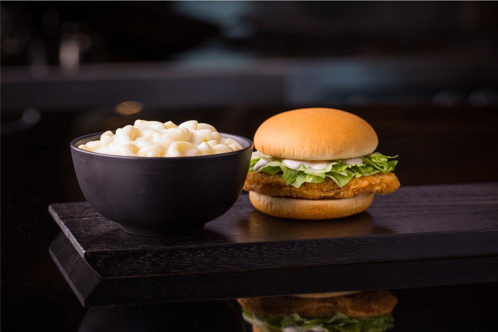 McD McChicken Sandwich w White Cheddar Whole Grain Pasta.jpg