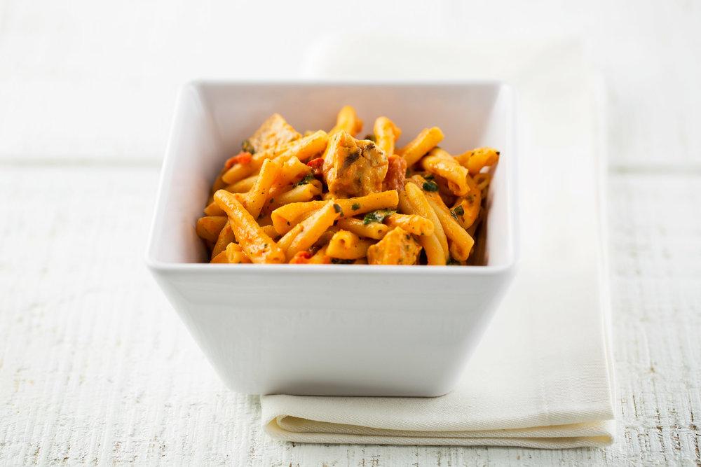 Panera Chicken Strozzapreti Spinach Red Pepper Sauce-9305.jpg