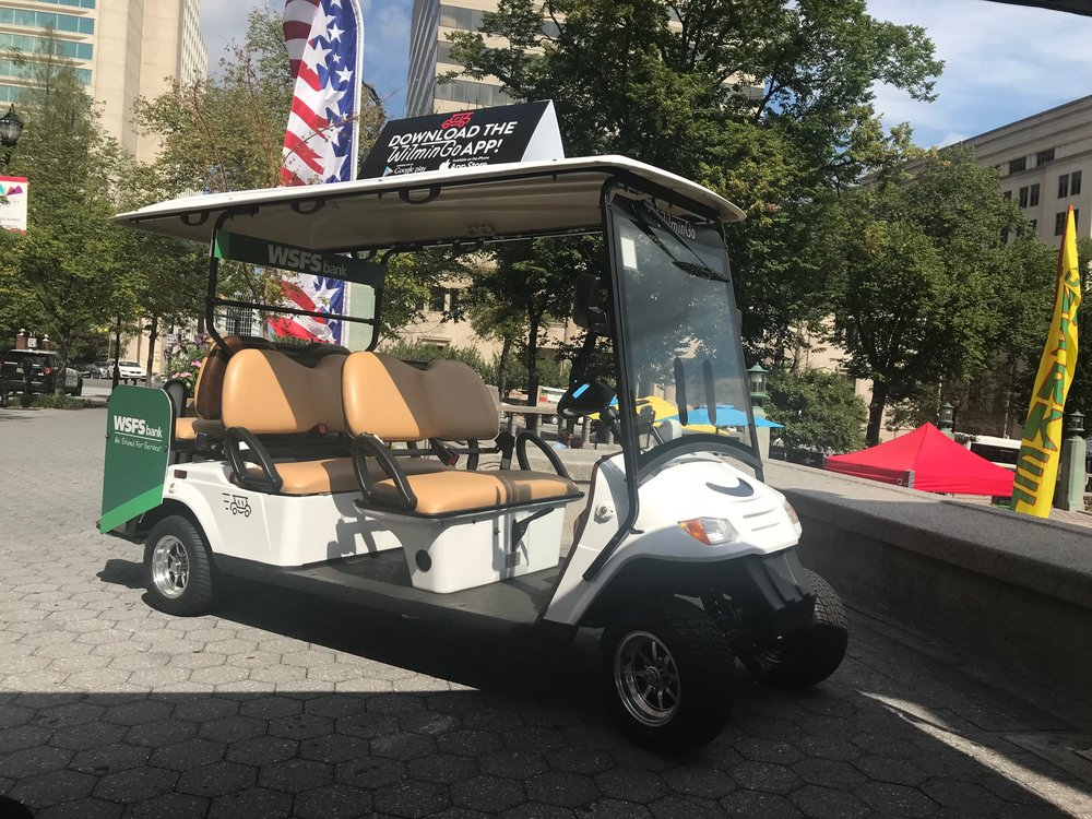 wilmingo golf cart taxi