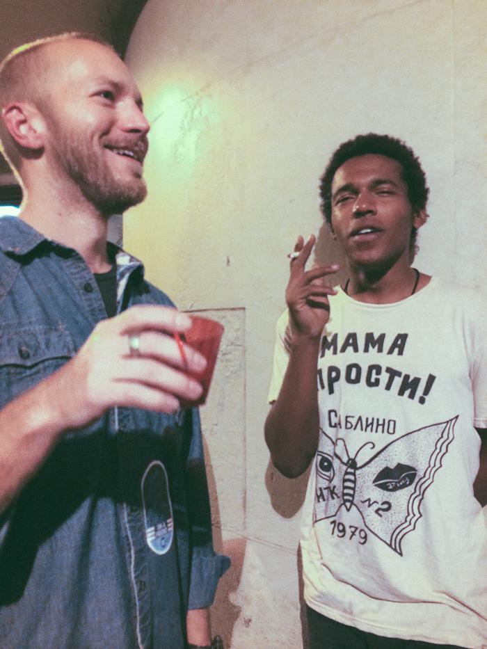 Benjamin Booker and Davis