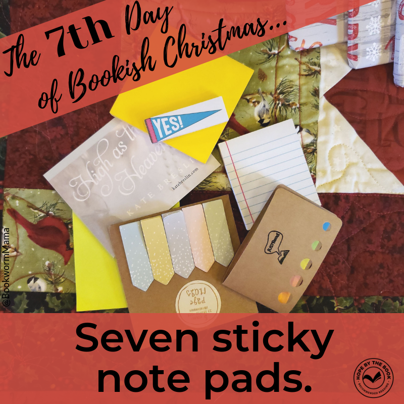 - On the seventh day of Christmas my true love gave to me, seven sticky note pads.
