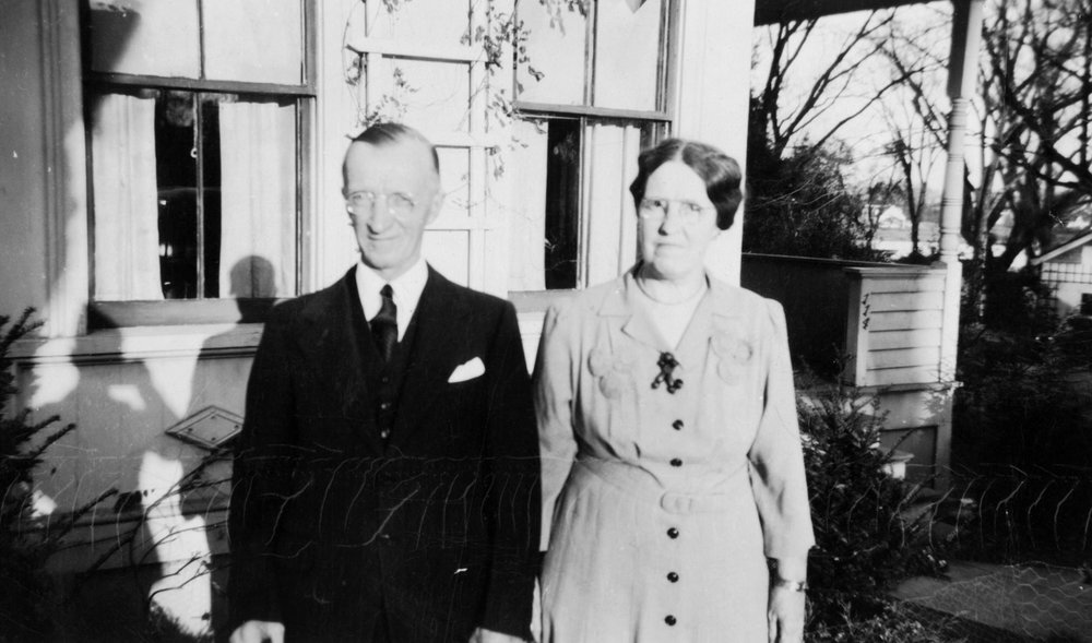 Fred and Nora Green in 1943