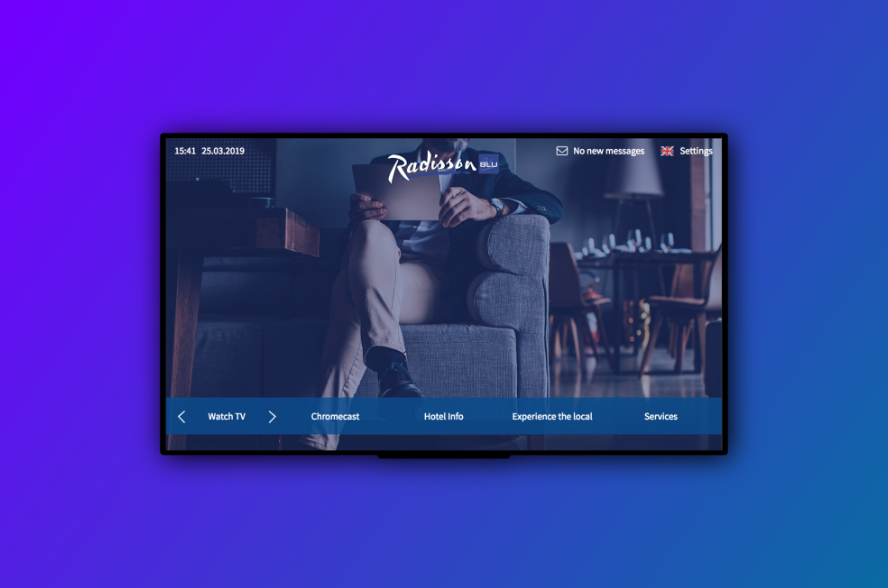 Hotel TV Interactive In-Room Signage — IRS Hospitality Group