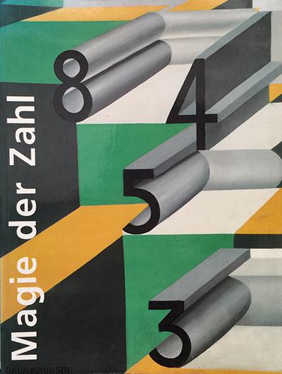 Magie der Zahl - in der Kunst des 20. Jahrhunderts,1997 Karin v. Maur, Staatsgalerie Stuttgart, Verlag Gerd Hatje, 360 pages
