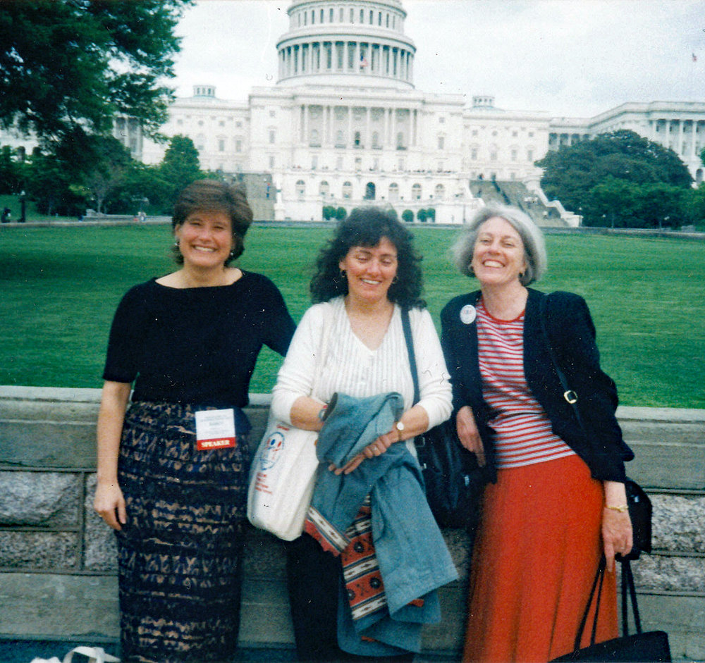 First Ladies of WEST (Left to Right):  Nancy Swift, Maggie Watson, Sheilah Rogers