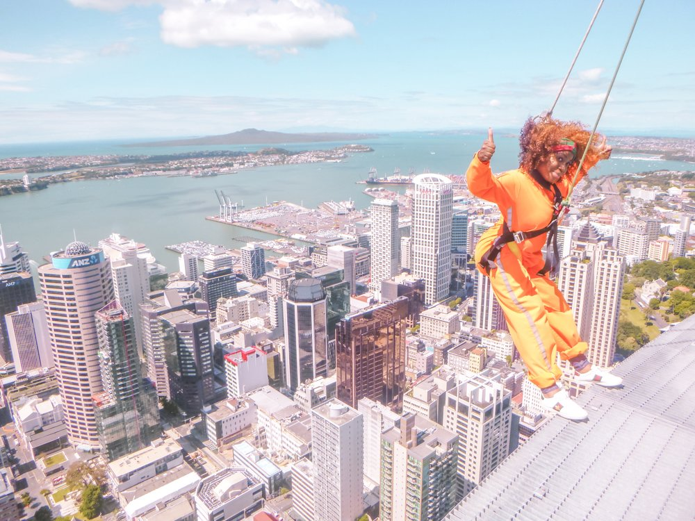 Auckland Skywalk, Auckland, New Zealand