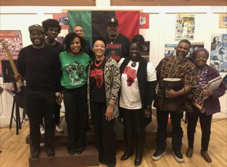 4th Annual African-American Spoken Word Festival, 2019 - RIGHTSTARTER, Venus Jones, Al Farley, Consonance, McTate Stroman.Photo courtesy Venus Jones