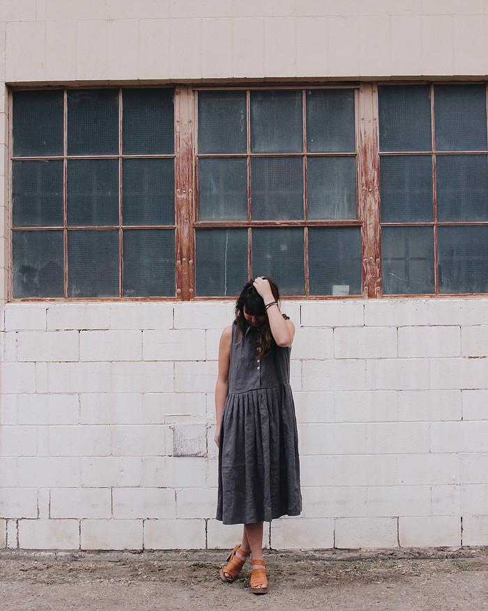 Cedar + Vine - Pleat Dress