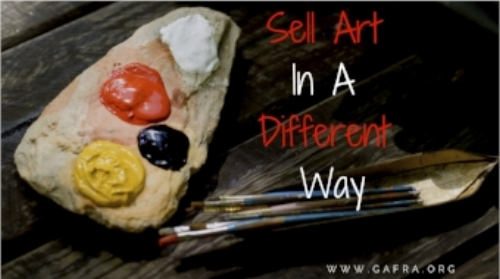 Your Art isn't Selling. Check another way to Sell your Art.
