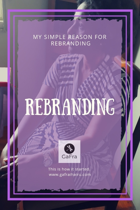 Rebranding Cover. Why the New Name.