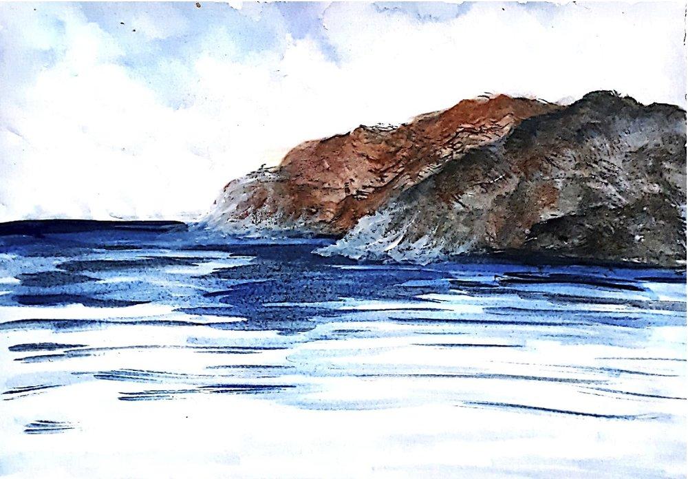 Rocky Cliffs - 9th Landscape Challenge