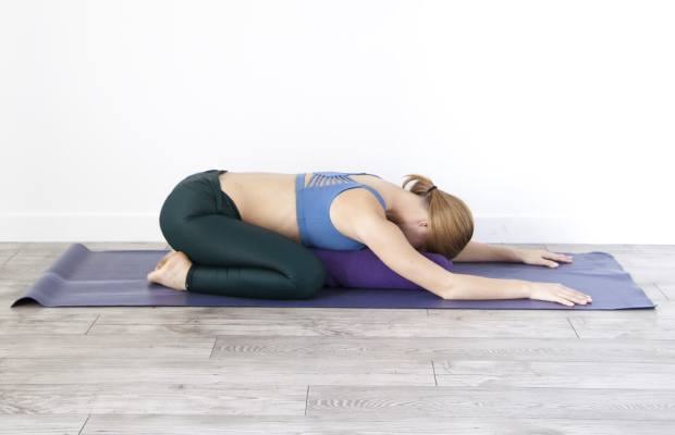 Child's Pose in Yoga