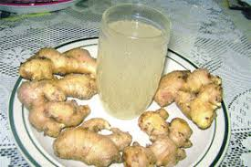 Ginger beer, the Christmas drink in Trinidad.