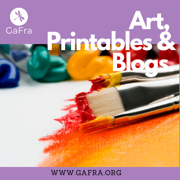 Check out my   PRINTABLES   TO DECORATE YOUR SPACE AND   GET YOUR FREEBIES.   WWW.GAFRA.ORG