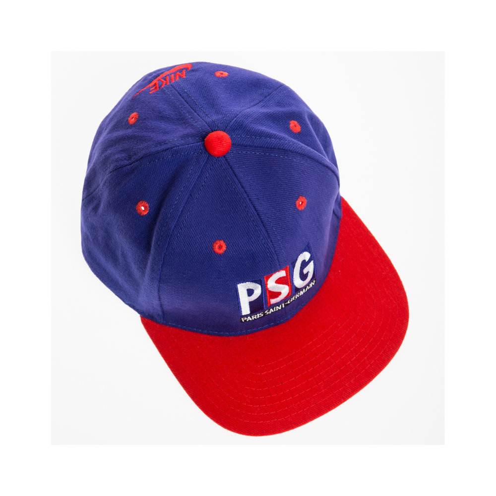 5b9f74aae5b97 PSG Vintage Cap — Le Ballon