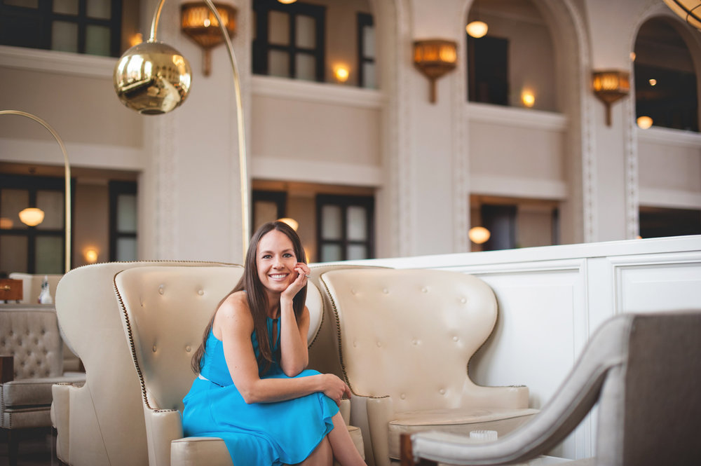 Headshot of Amber Vilhauer - client of Jill Wichner