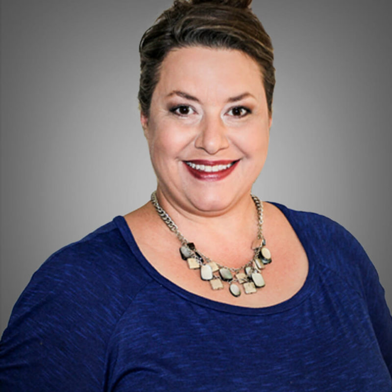 Headshot of Keri Sojak - client of Jill Wichner