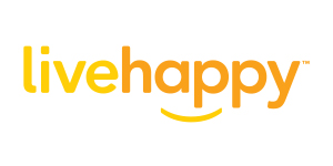 livehappy logo - client of Jill Wichner