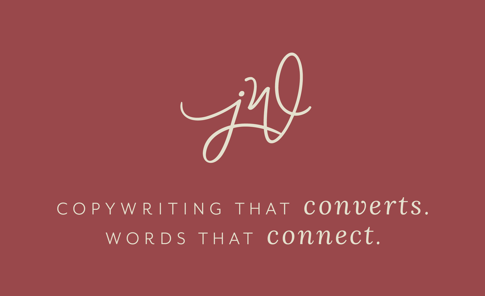 Jill Wichner | Copywriting that Converts. Words that Connect.